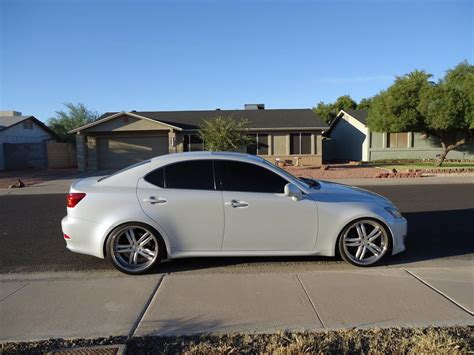 lexus is 250 lowered az is 250 350 rwd lowering springs jl clean sweep club