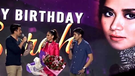 watch sarah geronimos i love you message for matteo sarah geronimo happy birthday and love on the brain off
