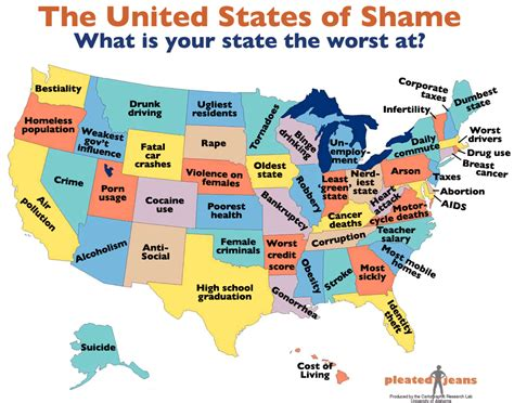 what does your state do worst daily infographic