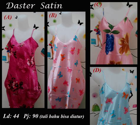 Daster Tali Satin 4 sleepwear baju tidur model daster