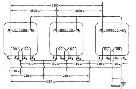 single phase to three phase transformer diagram single phase transformers for three phase operation