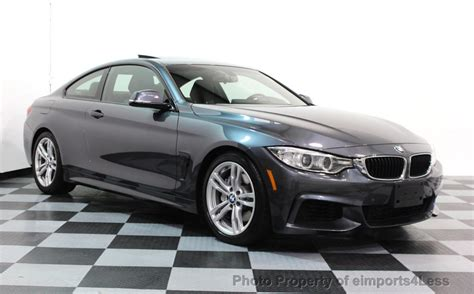 2014 Used Bmw 4 Series Certified 435i M Sport 6 Speed Coupe Hk Navi At Eimports4less Serving