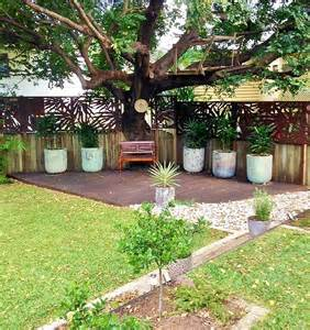 Tropical Landscaping Ideas For Backyard Garden Screening Privacy Screens Brisbane Call Us For