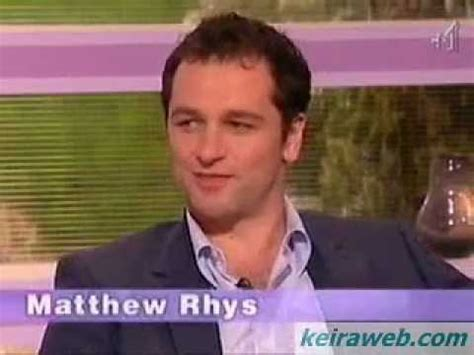 matthew rhys interview youtube the edge of love keira knightley matthew rhys uk