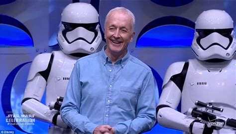 anthony daniels behind the voice actors jj abrams shares amazing behind the scenes pictures as he