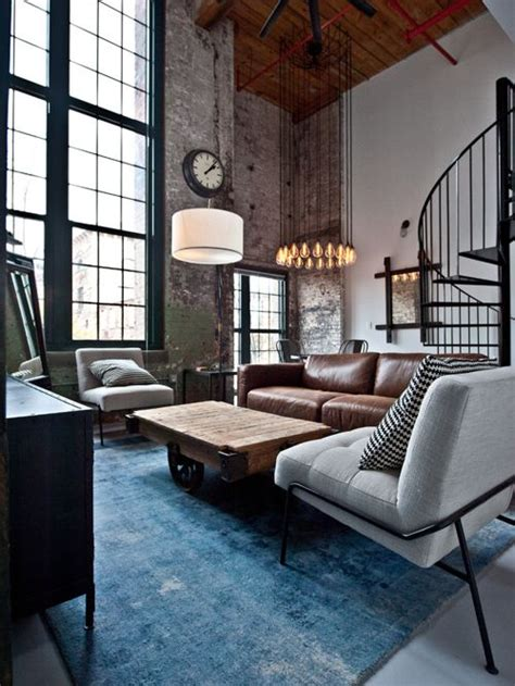 industrial room industrial living room ideas modern house