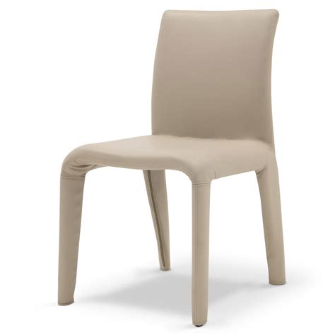 Vegas Chair vegas taupe leatherette dining chair zuri furniture