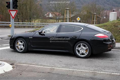Porsche Panamera Facelift by Spyshots 2013 Porsche Panamera Facelift