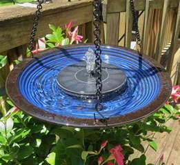 solar bird baths hanging bird bath bubbler solar