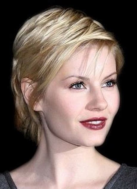 haircuts for straight fine hair short short haircuts for older women with fine hair