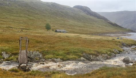 Ben Alder Cottage by Mountaineering Courses And Guiding Gold For St
