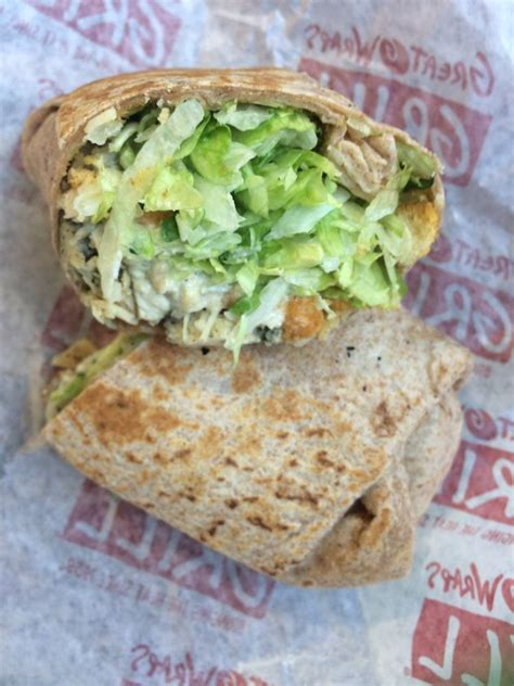 8 Great Wraps by Chicken Cesar Wrap Yelp