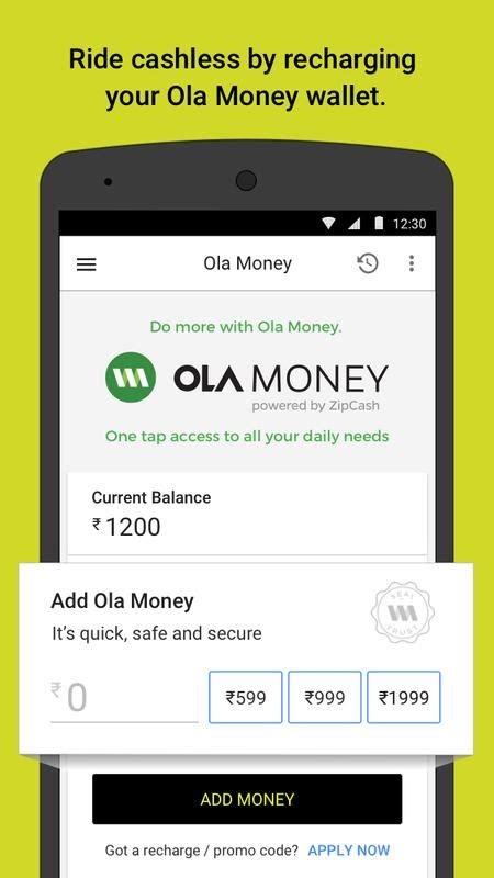 Car Types In Ola Cabs by Ola Cabs Taxi Auto Car Rental Booking Apk