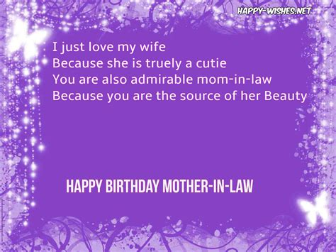 in law happy birthday wishes for mother in law quotes and