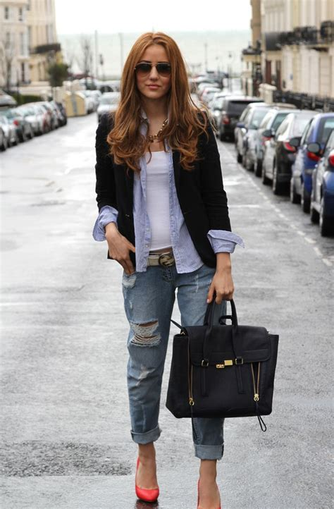 jeans style 2015 boyfriend jeans are back in style 2018 fashiongum com