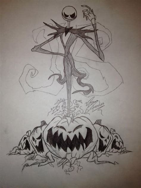 jack the pumpkin king tattoo designs skellington the pumpkin king by roxasrazzles13 on