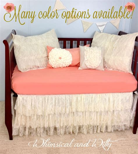 chic crib bedding baby bedding crib bedding shabby chic vintage lace baby