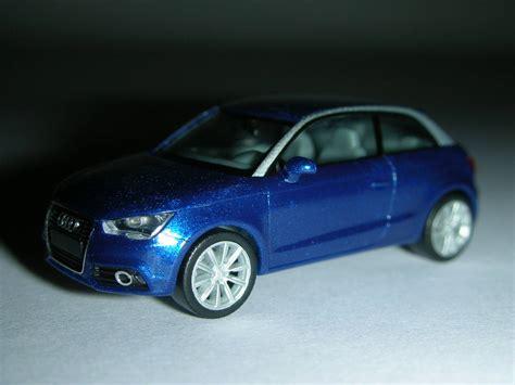 Audi A1 Kumulusblau by Miniaturmodelle Herpa Immasstab 1 87