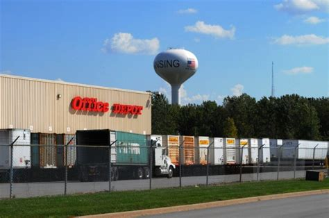 Office Depot Locations Indianapolis Office Depot To Lansing Distribution Hub Northwest
