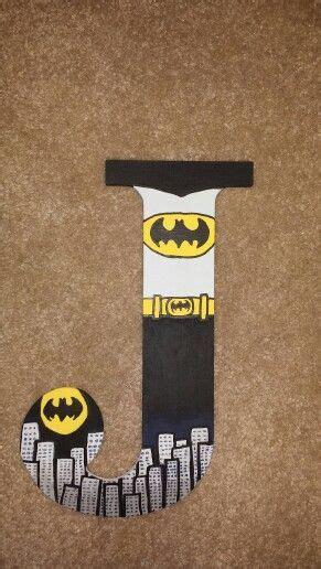 Letter Batman 42 Best Images About Batman On Ems Painted And Batman Birthday
