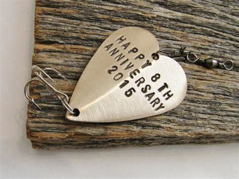 Bronze Anniversary   Personalized Heart Lure ? C and T