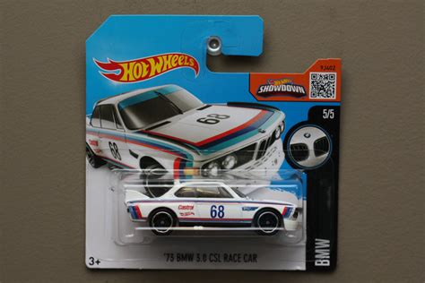 Hotwheels 73 Bmw 3 0 Csl Race Car C 461 wheels 2016 bmw 73 bmw 3 0 csl race car white