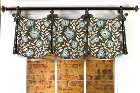 Curtain Valance Patterns | delaine curtain valance sewing pattern pate meadows