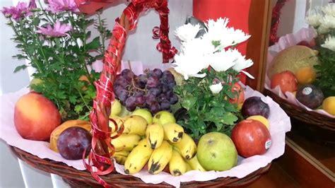 canasta de frutas para regalo noticias de youtube como hacer canastas de frutas para