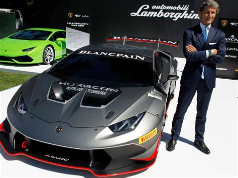 Ceo Of Lamborghini Lamborghini Ceo It S Not Enough Just To Go Fast
