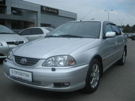 Toyota Avensis 2002 Model Used 2002 Toyota Avensis Photos 2000cc Gasoline Ff