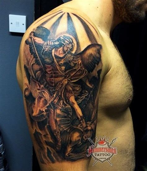 tattoo aka london high contrast black and grey work from paul saliba aka