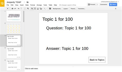 jeopardy templates for google slides learning blog make a jeopardy template with google slides