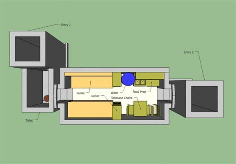 air one interior cutout air diy fallout shelter how to turn your home in to a fallout