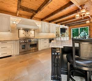 Cabin Kitchen Designs log cabin kitchen design rustic kitchen new york