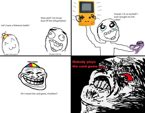 Rage Meme Comics - pokemon le rage comics