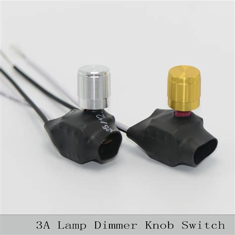 2pcs lot l dimmer knob switch 220v 3a table l floor