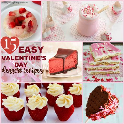 easy valentines day meals 15 easy valentine s day dessert recipes saving money