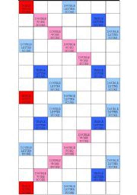 print scrabble board worksheet scrabble board