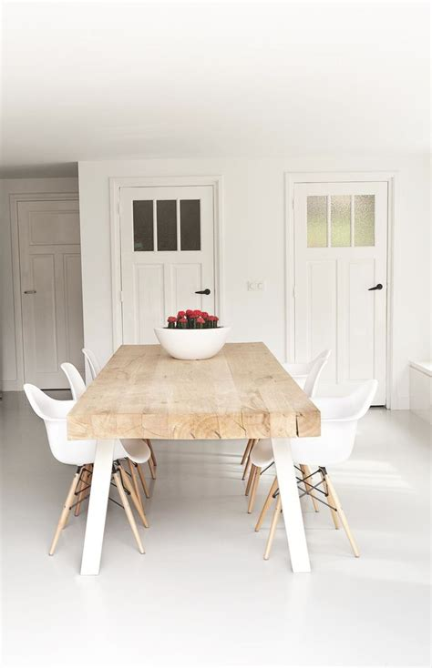 modern dining table and chairs best 25 white dining chairs ideas on white