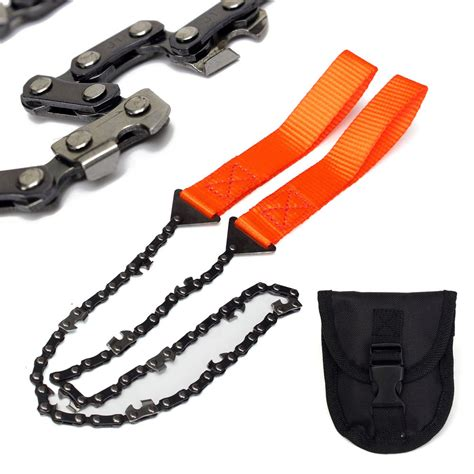 Cing Hiking Emergency Survival Tool Gear Pocket Chain Saw Camo survival chain saw chainsaw emergency chic cing