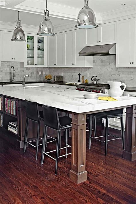 kitchen islands with posts 30 brilliant kitchen island ideas that make a statement