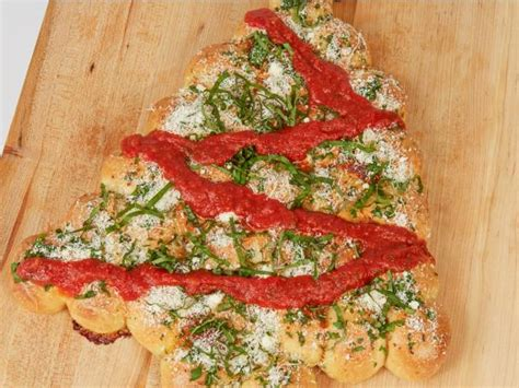christmas tree saver recipe tree pull apart bread recipe food network kitchen food network