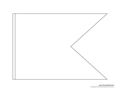 printable template for triangle banner pennant banner template peerpex