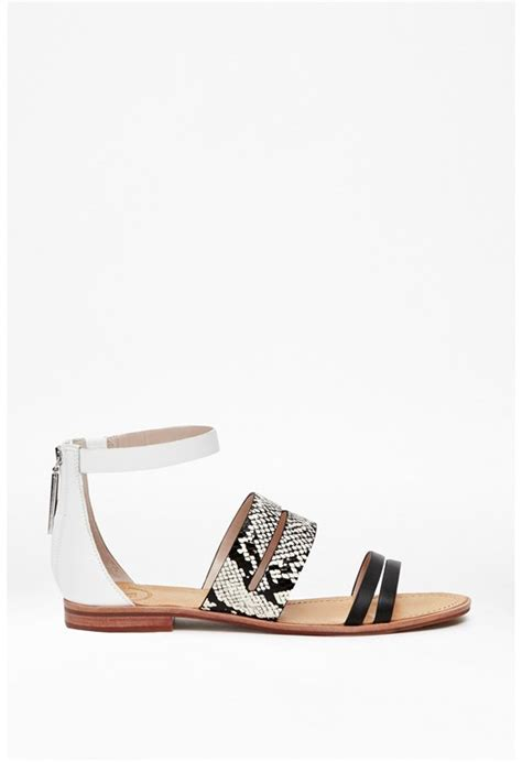 Lisha Sandal Black White s accessories accessories in all styles