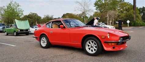 orange sports cars sports cars datsun 240z at cars coffee
