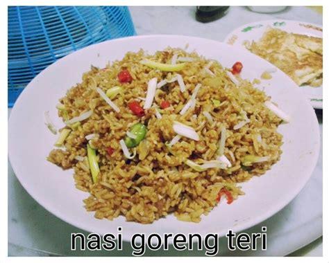 Teri Nasi Ukuran Sebesar Tauge resep masakan nasi goreng teri dapur yuli