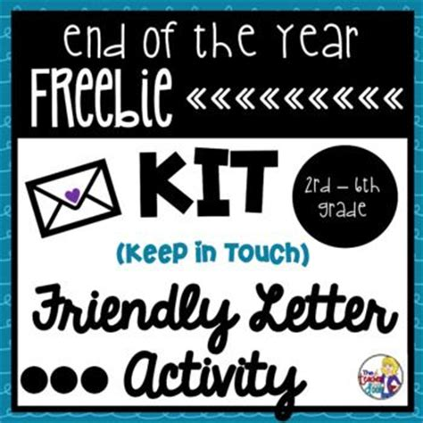 Thank You Letter Keep In Touch 1000 Images About End Of Year On The End End