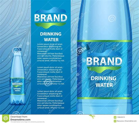 mineral water label template mineral water label template image collections template