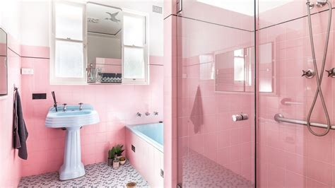 Sydney Man Selling House To Give Buyer 25 000 If Pink Light Pink Bathroom