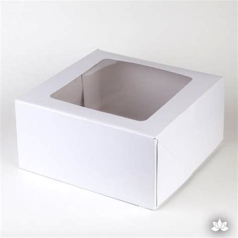 cake box window 9 quot window cake box white caljavaonline